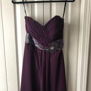 Dresses & Skirts - Purple bridesmaid dress
